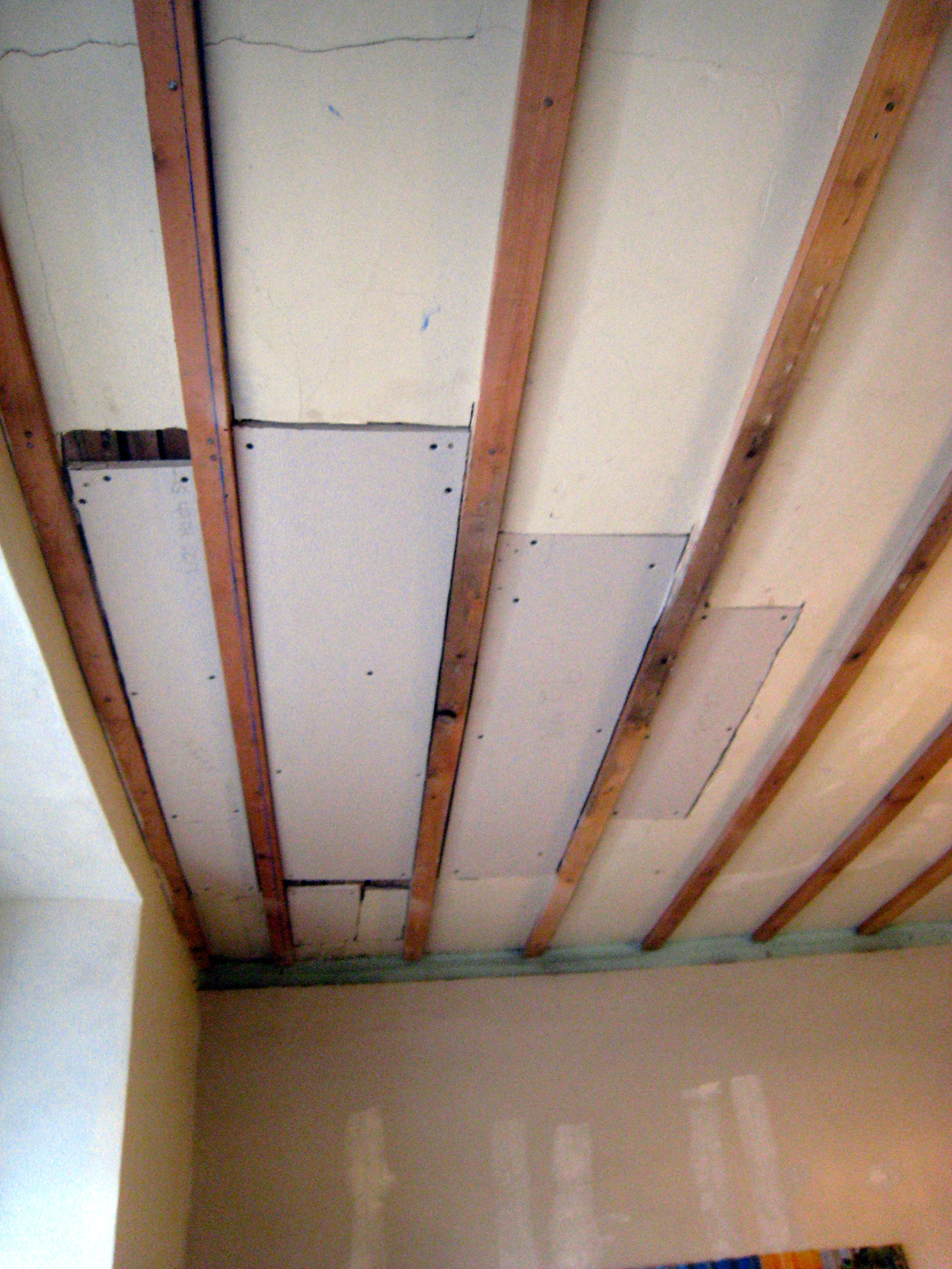 Sheetrock A Ceiling With Uneven Joists | Taraba Home Review