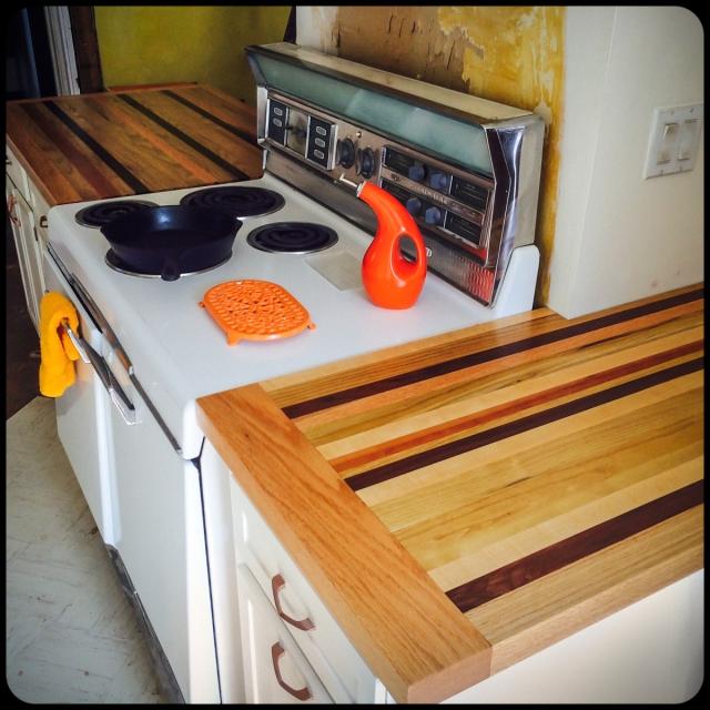 butcher block counter tops